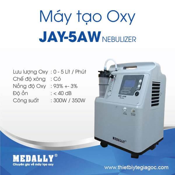 Máy tạo oxy Medally JAY-5AW